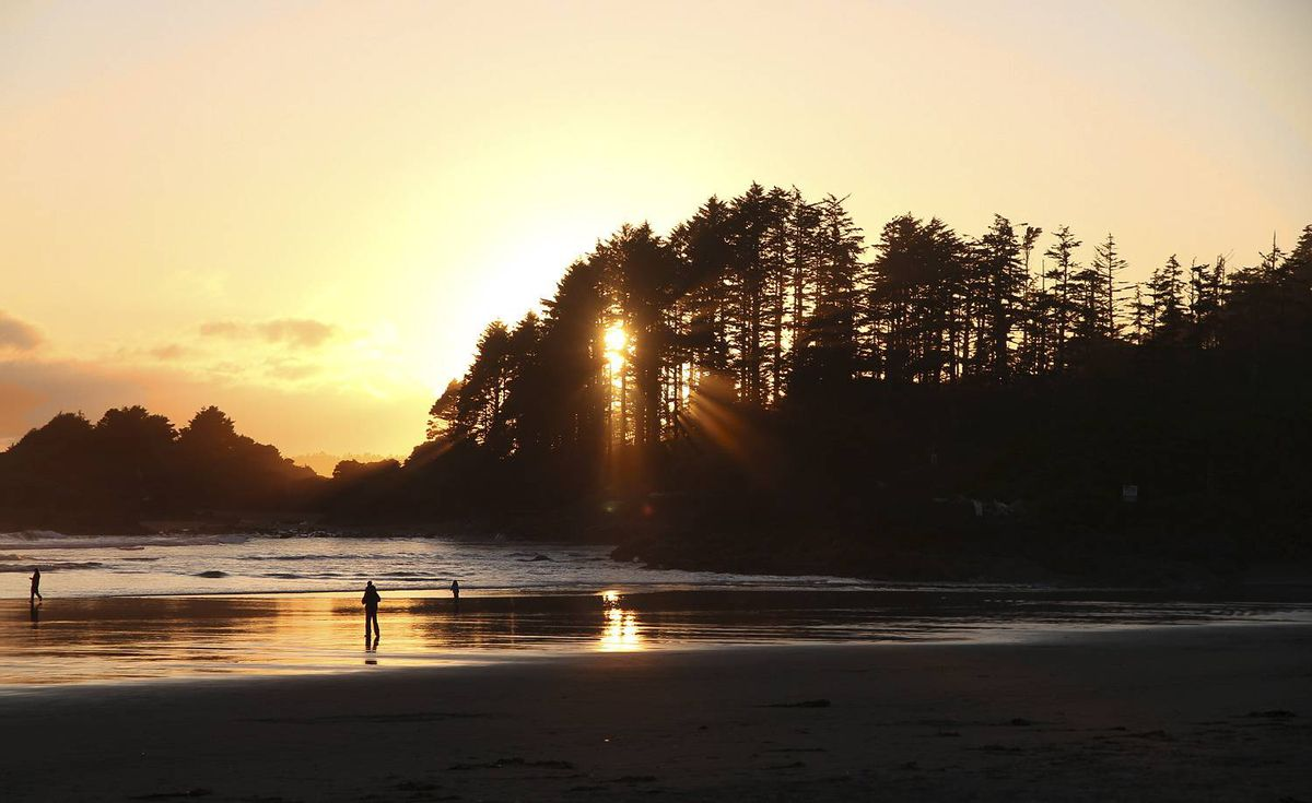 Mark Maertens-Poole sent us this photo of a Tofino Sunset, taken June 28, 2010