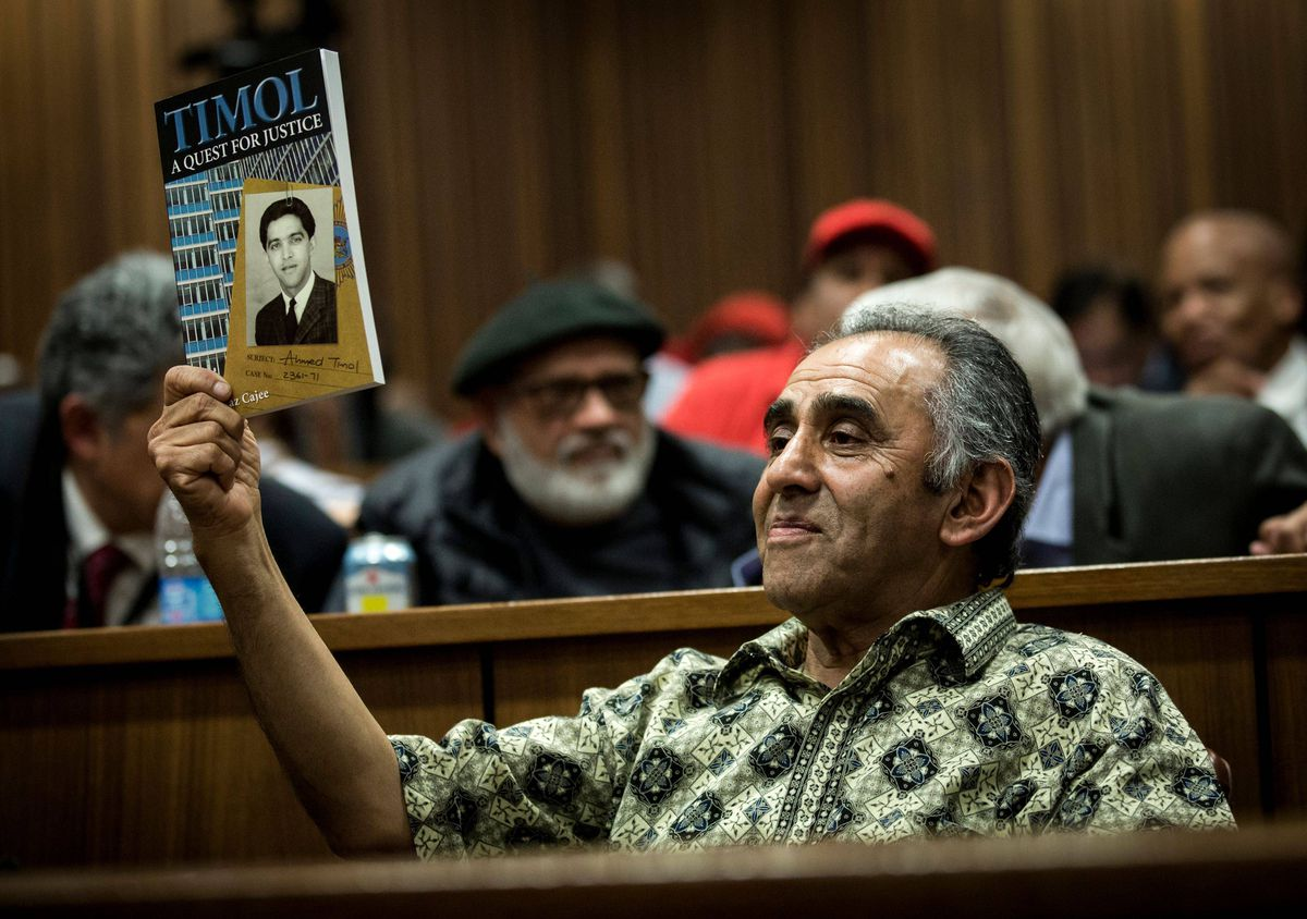 In historic ruling, South Africa judge finds anti-apartheid activist murdered by police in 1971 case