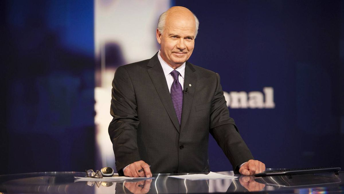 """PETER MANSBRIDGE, anchor, CBC's The National: """"Yes, because I have become convinced that the risk of taking it is less than the risk of not taking it."""""""