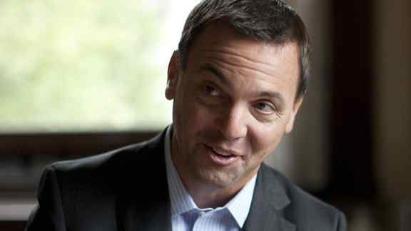 Ontario Progressive Conservative Leader Tim Hudak is pictured at his office at Queen's Park on Wednesday.