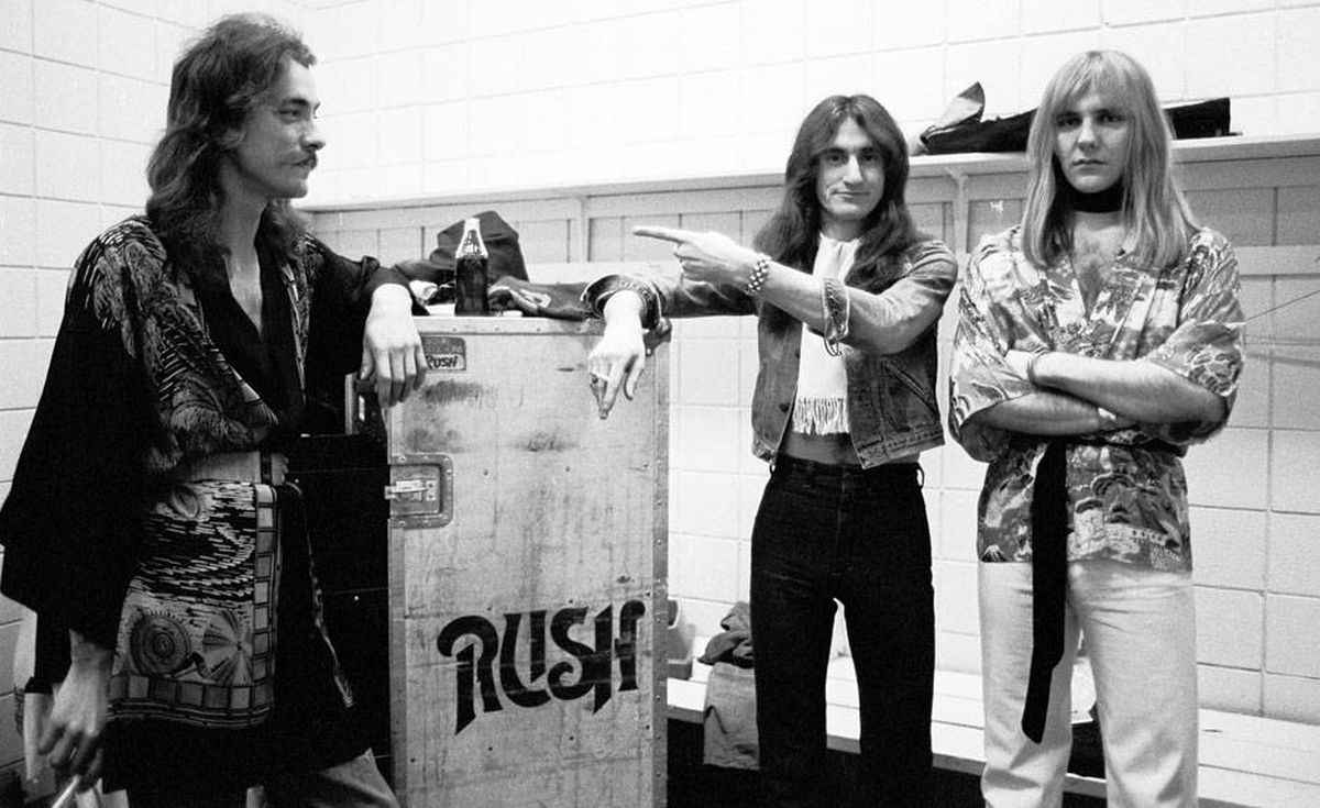 An image from the documentary Rush: Beyond the Lighted Stage.