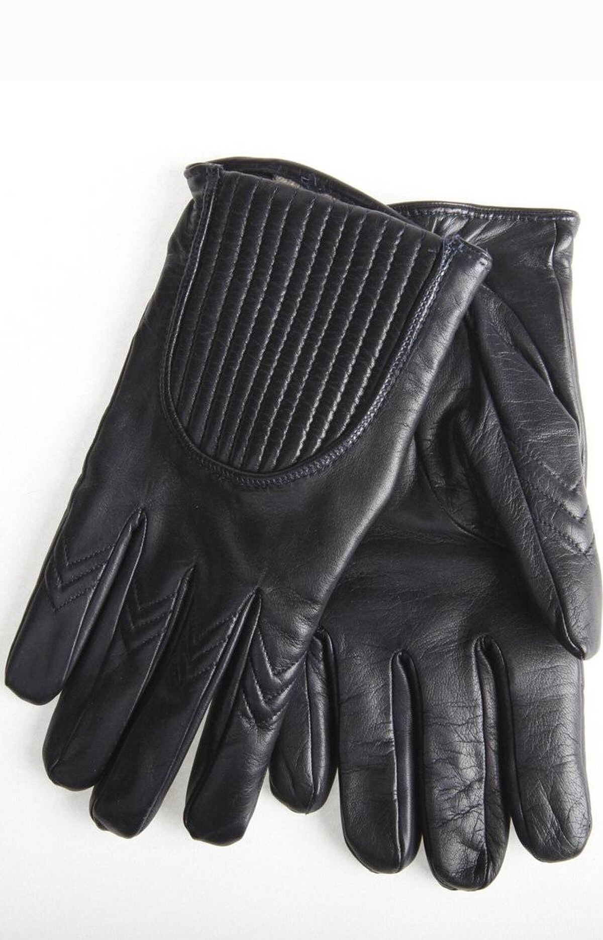Navy Alpo gloves, $245 at Nicolas Men (www.nicolastoronto.com).