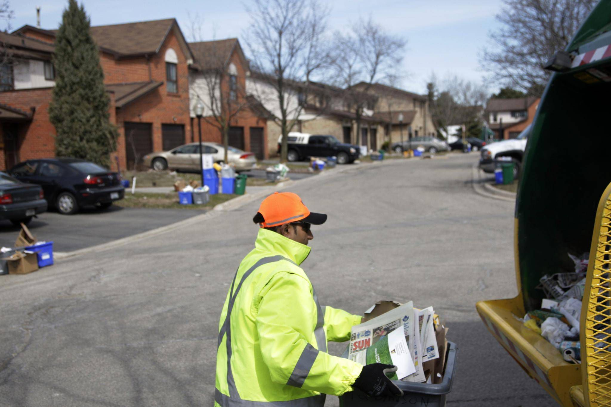 Peel Region Garbage Workers Strike To Cause Delays To Waste Pickup The Globe And Mail