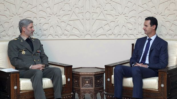 Iran, Syria Sign Deal On Military Cooperation