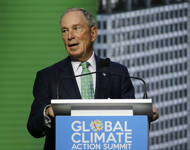 Michael Bloomberg changes voter registration to Democrat