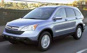 2007 Honda CR-V Credit: Honda