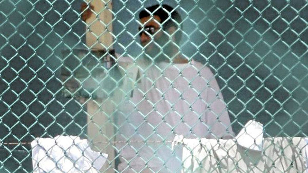 Omar Khadr is seen in Guantanamo Bay's Camp 4 on Oct. 23, 2010, days before the Canadian was convicted of five war crimes and sentenced to eight more years.