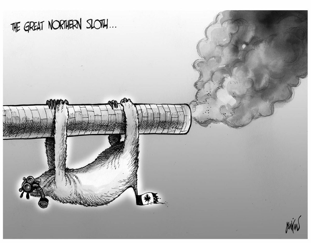 Editorial cartoon by Anthony Jenkins