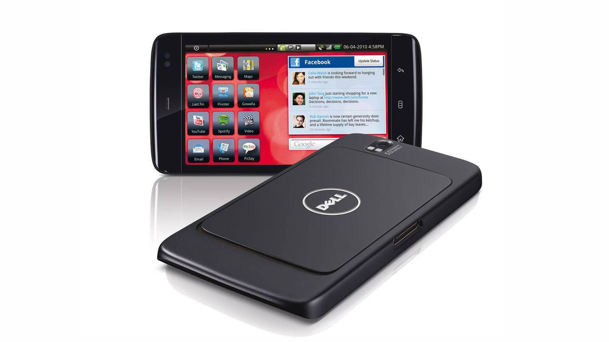 Dell Streak 5-inch Android tablet