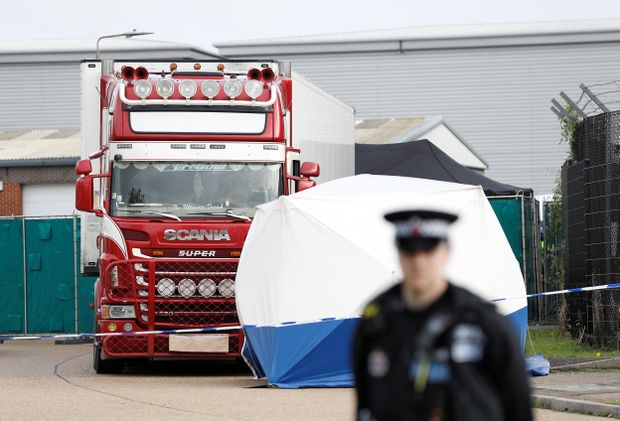 4th suspect arrested as UK truck deaths case probe deepens