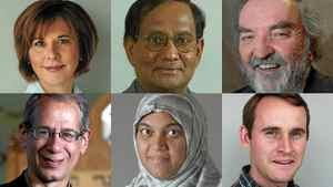 From left: Lorna Dueck, Vettivelu Nallainayagam, Michael Higgins, Howard Voss-Altman, Sheema Khan, moderator Guy Nicholson