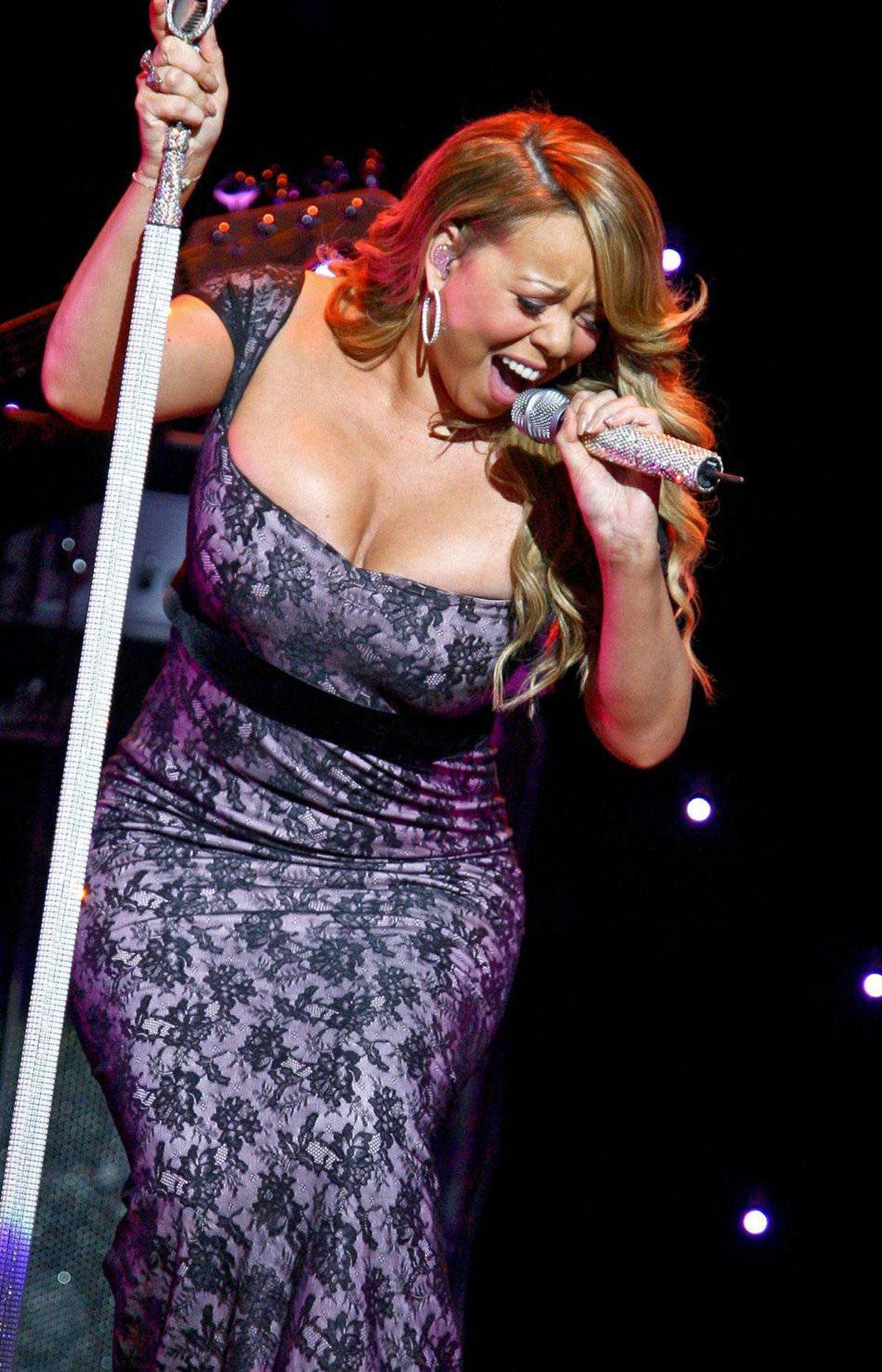Mariah Carey's named her twins Monroe and Moroccan.