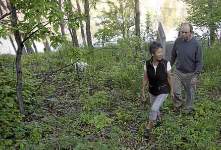 Ken and Sharon Mould, of Winnipeg, are helping the Nature Conservancy of Canada to preserve prairie lands.
