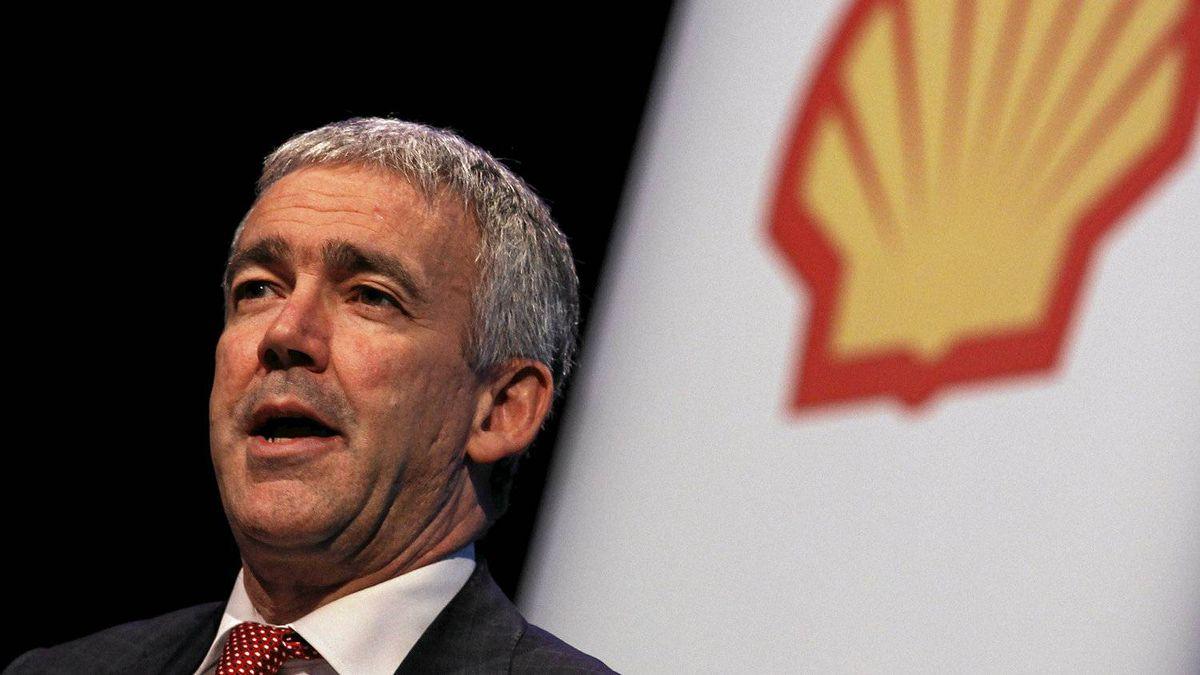 Royal Dutch Shell CFO Simon Henry