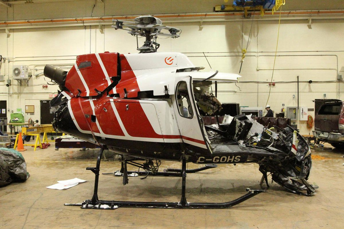 Used Cars Ottawa >> Unsecured tool bag may have caused deadly Hydro One helicopter crash: TSB - The Globe and Mail