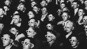 This iconic image of 3-D movie viewers appeared in Life Magazine in 1952.