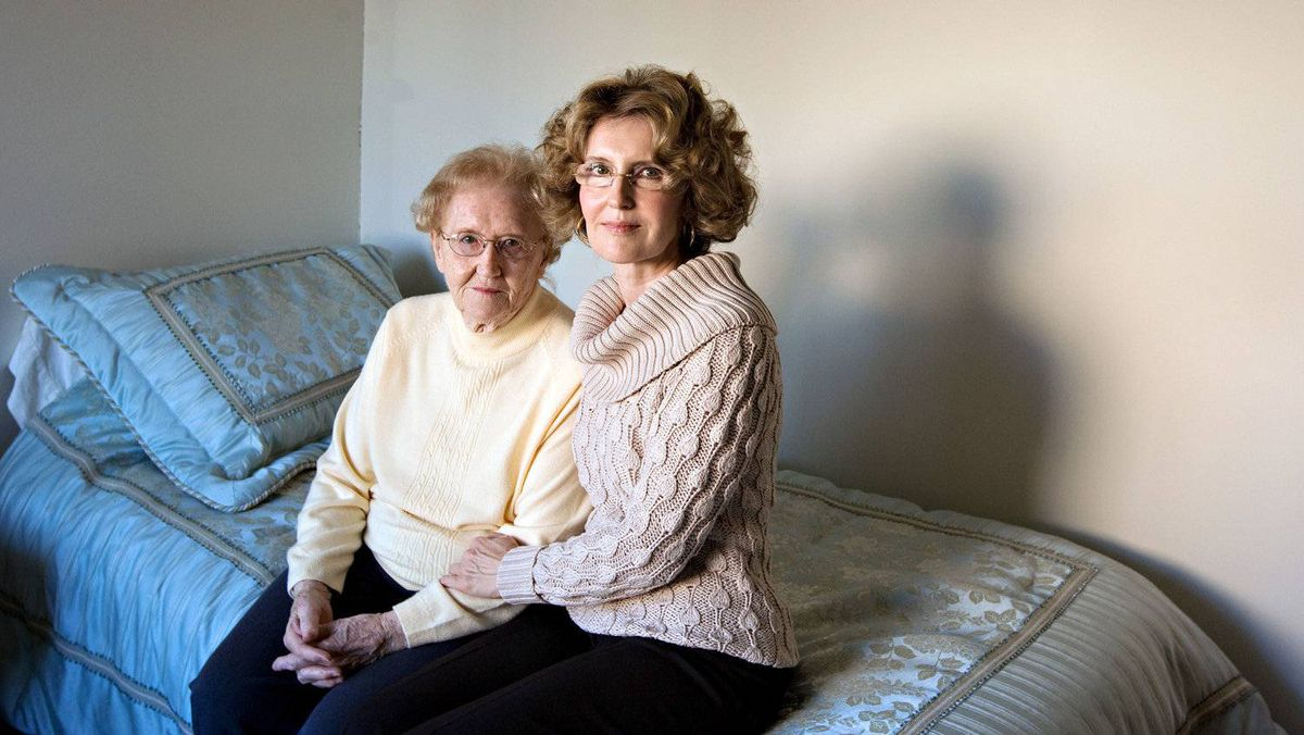 Norma Jacques and her daughter Nancy Dasent in 2008. The family is considering an appeal of a court decision denying Mrs. Jacques what she says is her share of her father's estate. Chris Bolin for The Globe and Mail