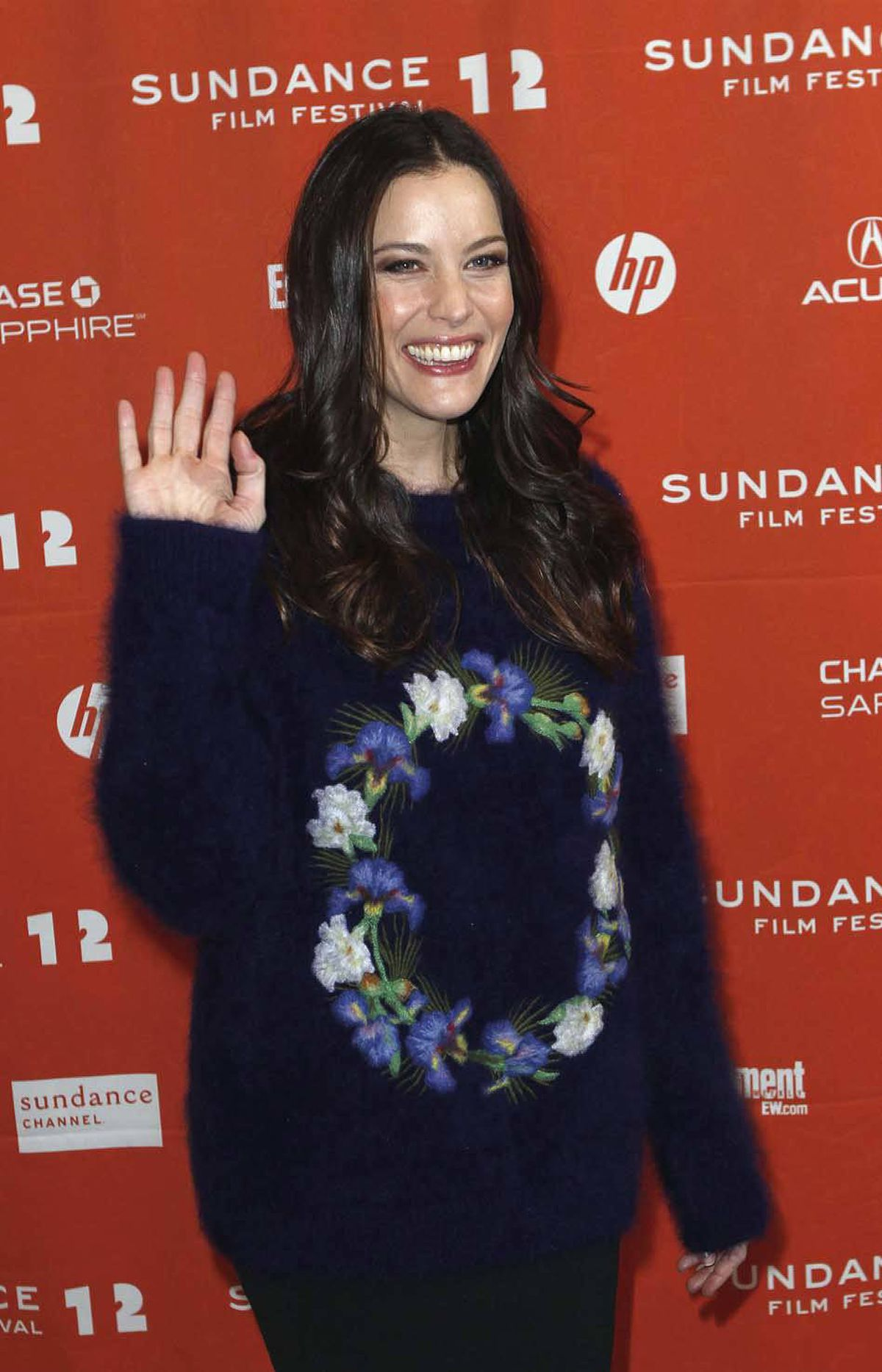 Remember this, people, as the day this writer could find no words to describe the sweater Liv Tyler wore to the Sundance Film Festival on Friday.