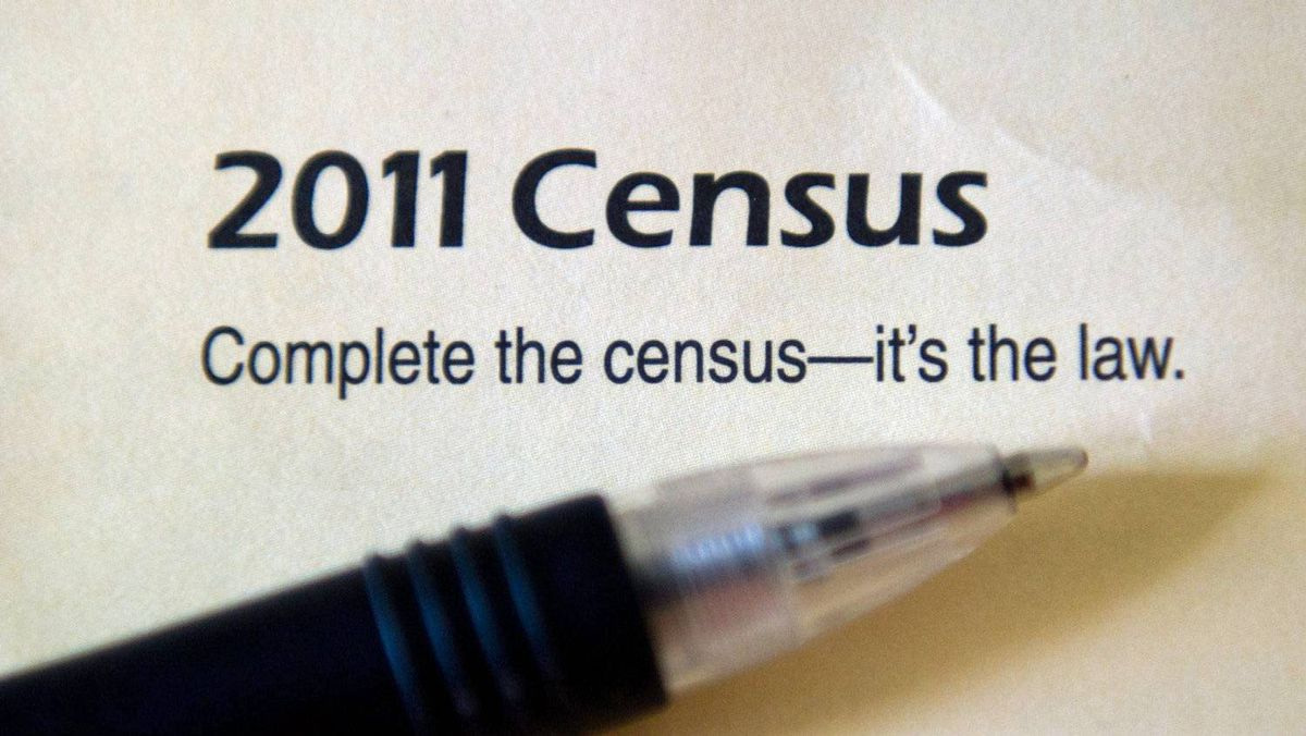 The cover of the 2011 Census package is seen in Ottawa on Thursday, May 5, 2011.