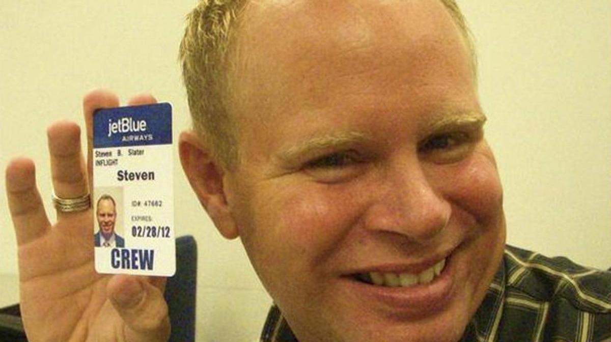 Steven Slater in a screen grab taken from MySpace