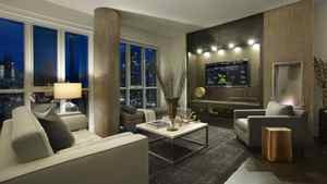 """A model """"EcoSuite"""" at Tridel's Reve condominium in downtown Toronto. The builder constructed the special 1,096-sq.ft. unit as a demostration of the types of energy-saving and environmentally-conscious technologies that will soon be available in many of its buildings in Toronto."""