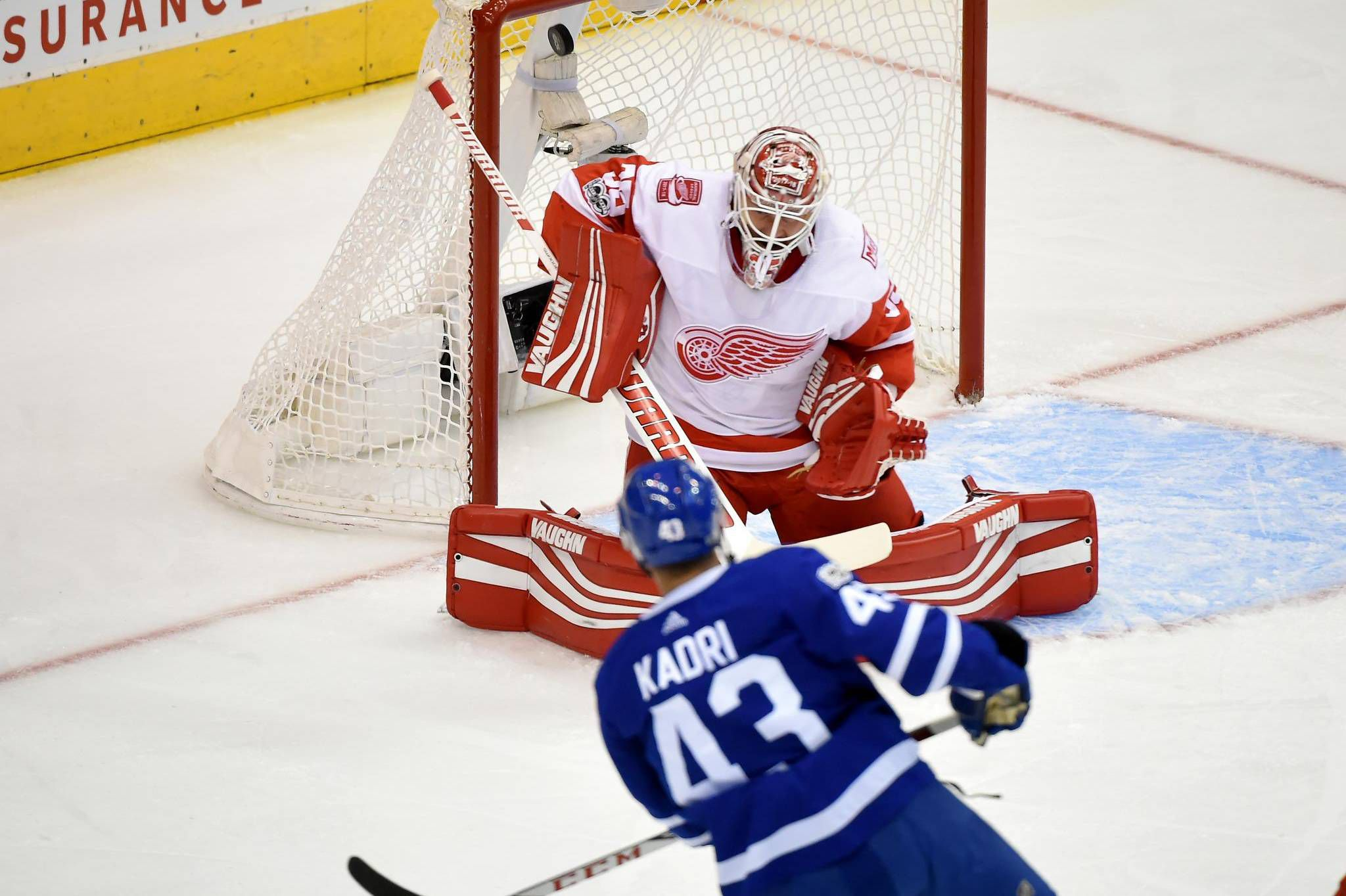 572a84d107e Red hot Maple Leafs spread offence around in win over Detroit - The ...