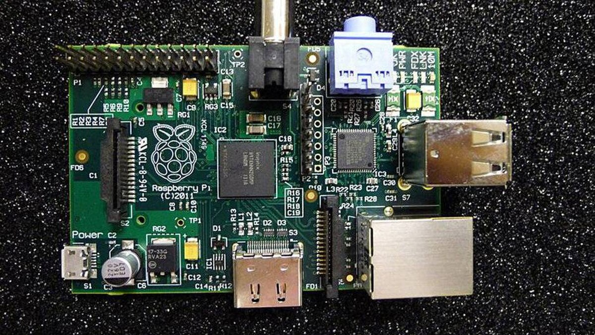 The Raspberry Pi is a credit card-sized motherboard, sold without a case, which can be connected to a TV, monitor, mouse or keyboard.