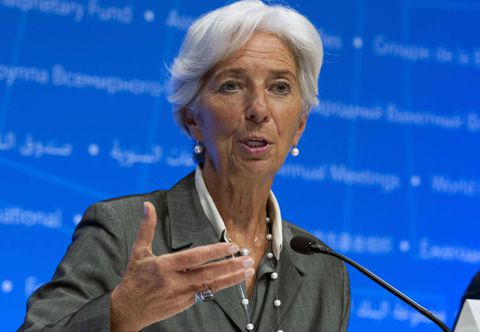 International Monetary Fund chief warns against being complacent about growth