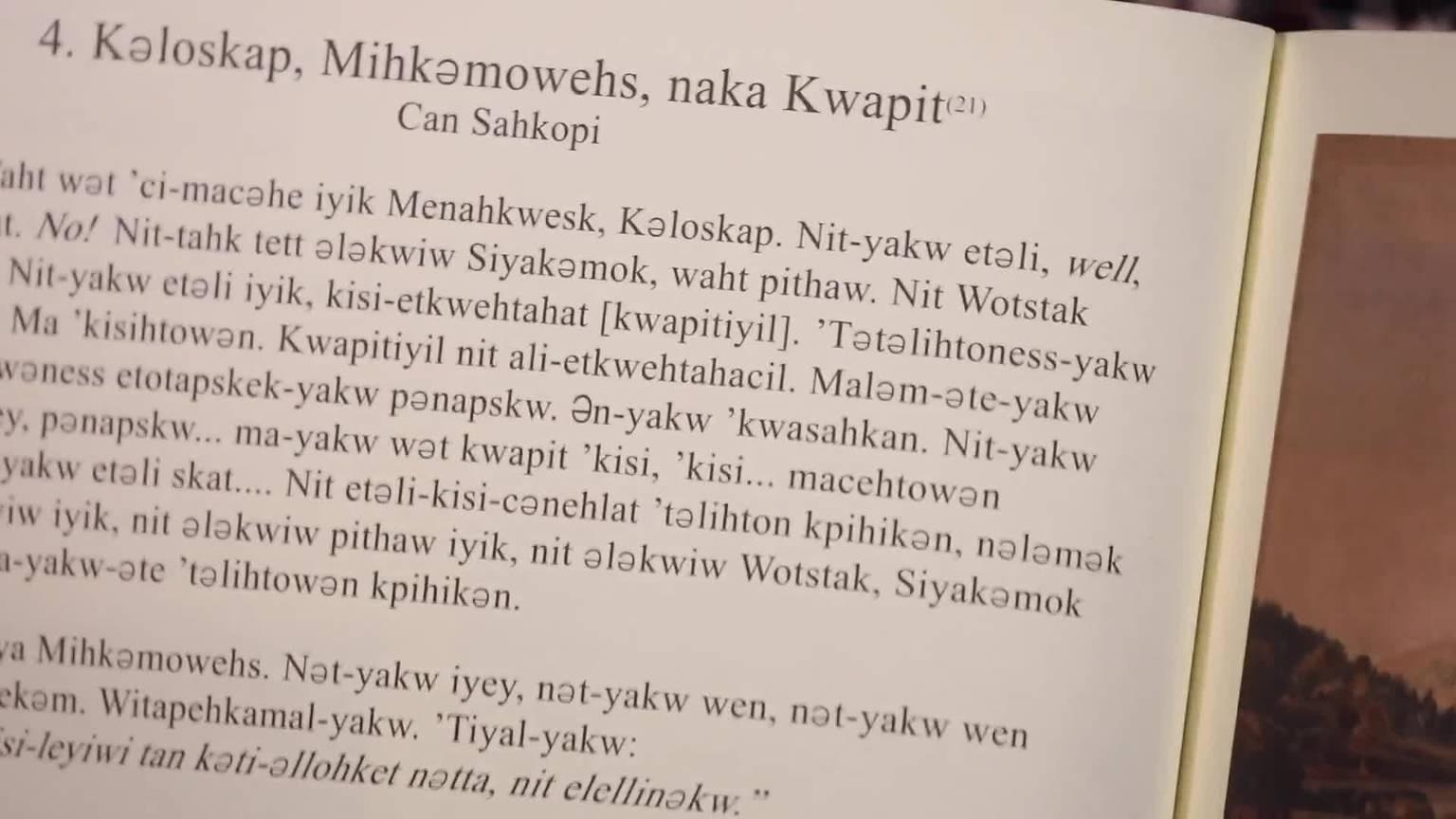 Jeremy Dutcher on Indigenous languages