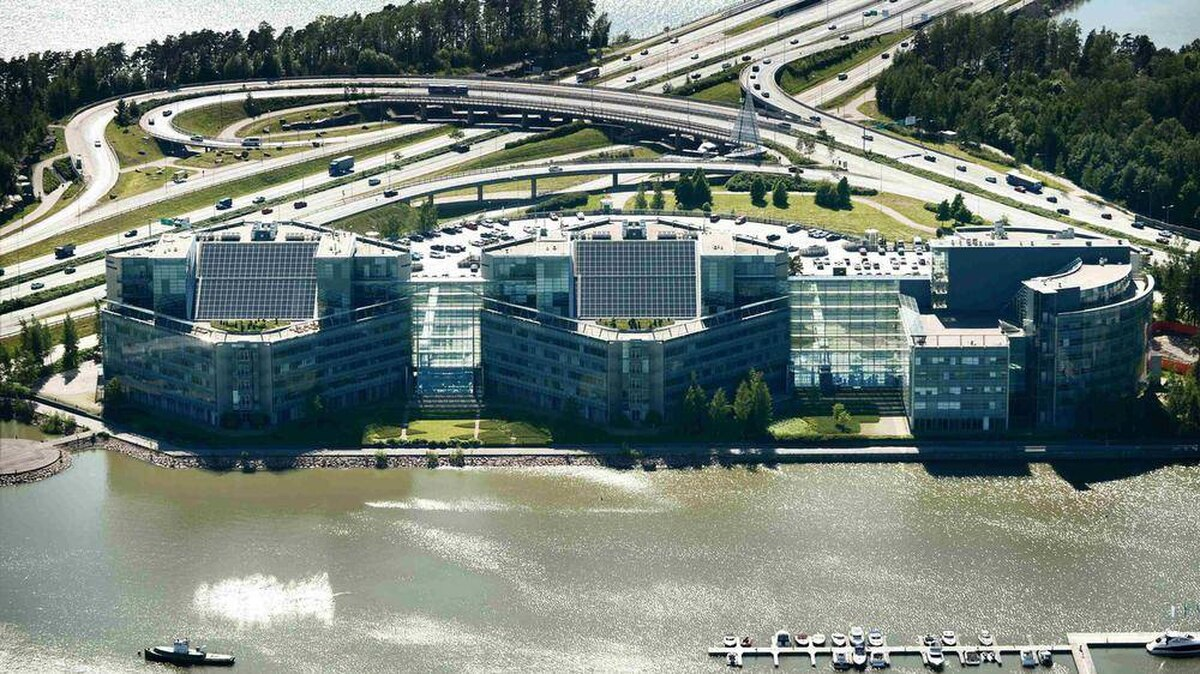 For sale: Nokia world HQ, slightly used, €300-million o.b ...