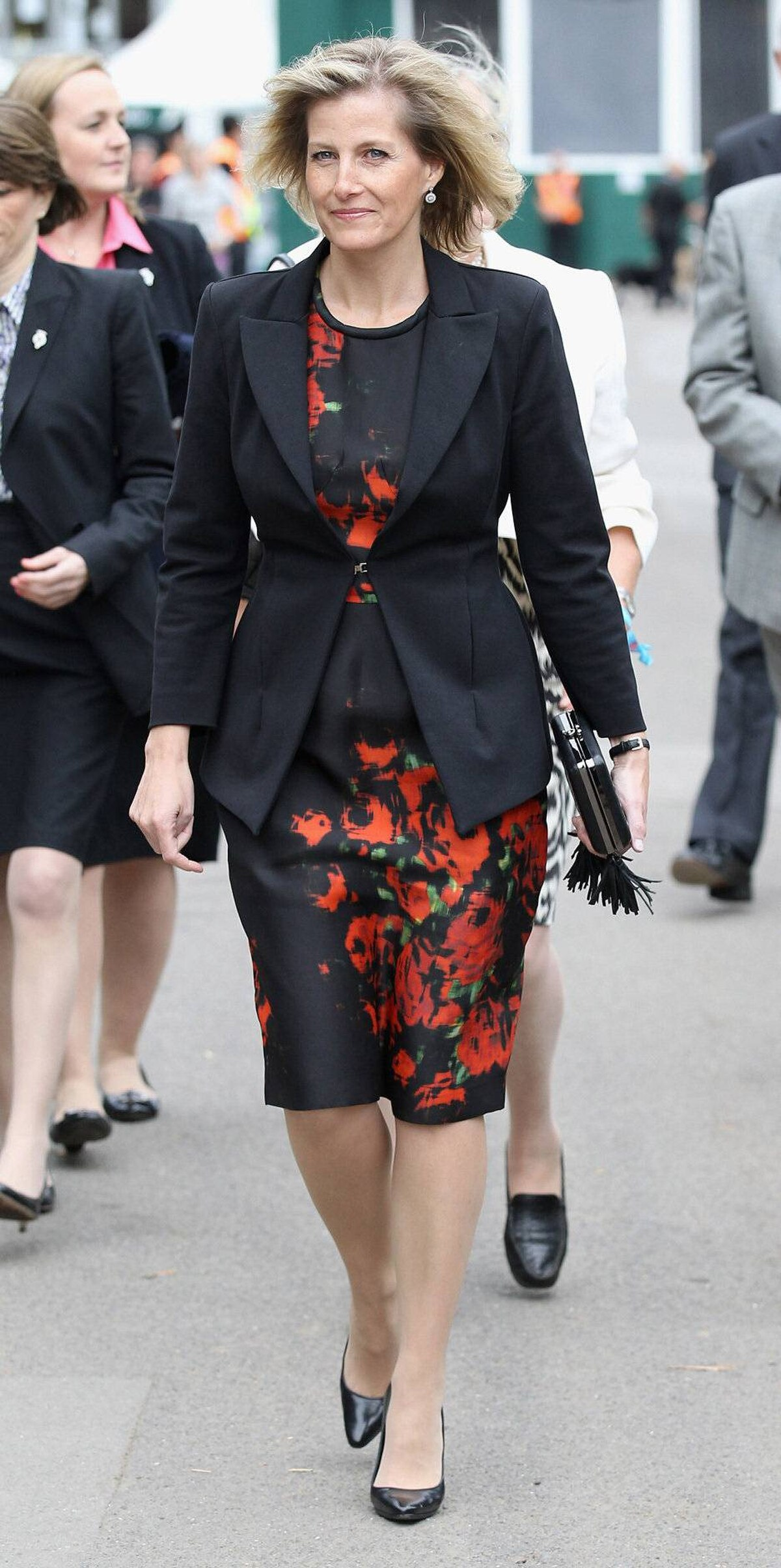 Sophie Rhys-Jones, Countess of Wessex, visits the Chelsea Flower Show press and VIP day in London on May 23, 2011.