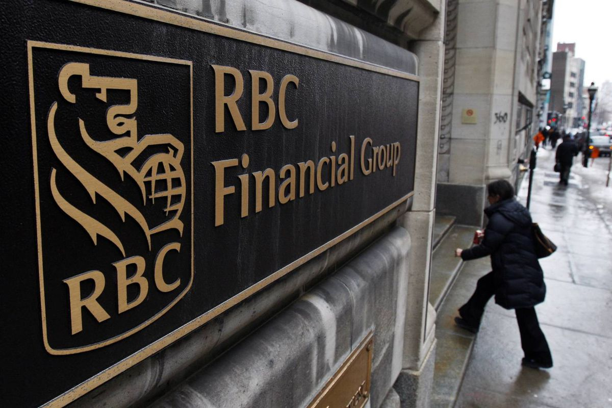 The Royal Bank of Canada branch in Old Montreal Thursday, Feb. 26, 2009.