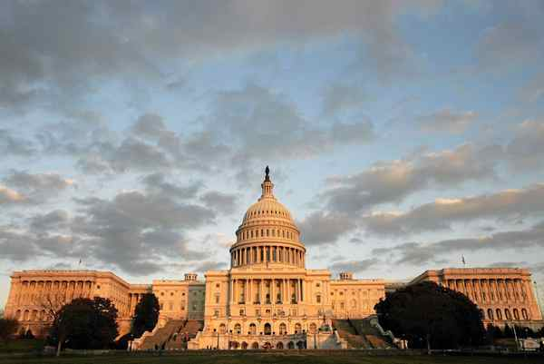 The Capitol building, home of the U.S. Congress: The threat of default did little to prod the politicians Tuesday. Chip Somodevilla/Getty Images
