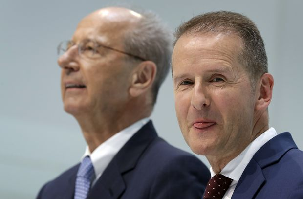 VW bosses charged over emissions scandal