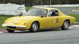 1969 Lotus Elan Plus 2 racer owned by Fred Samson Credit: Bob English for The Globe and Mail