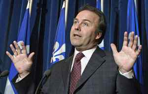 Former Quebec justice minister Marc Bellemare is shown in an April 27, 2004 file photo.