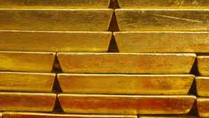 Gold bars are seen in this file photo.