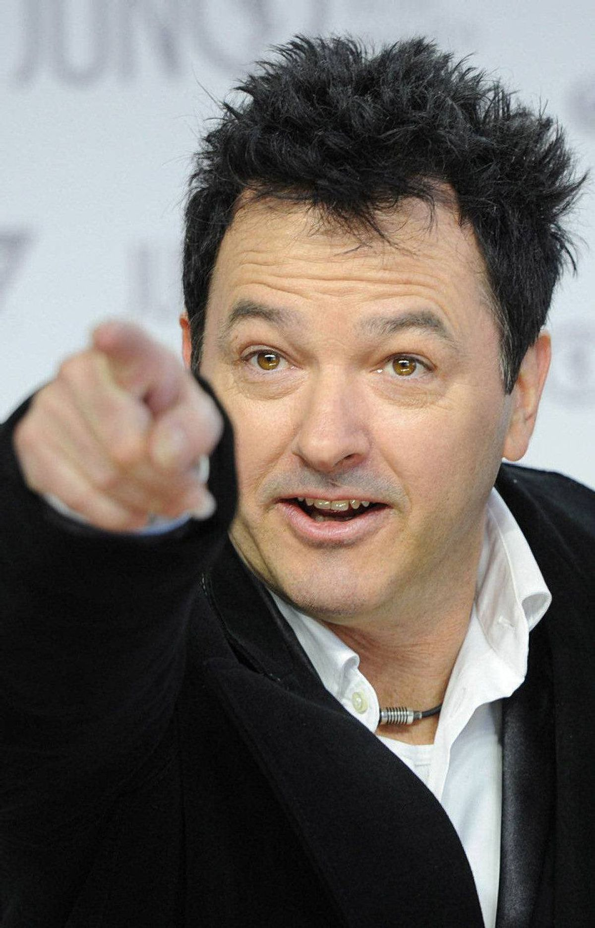 Jimmy Rankin jokes around as he arrives on the red carpet at the Juno Awards in Ottawa, Sunday April 1, 2012.