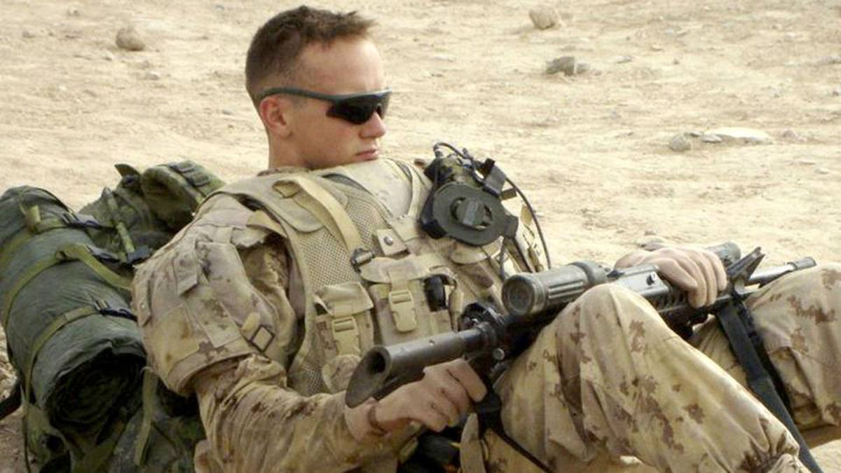 Corporal Brian Pinksen died in hospital Aug. 30, 2010, in Germany after being injured during an explosion in Afghanistan.