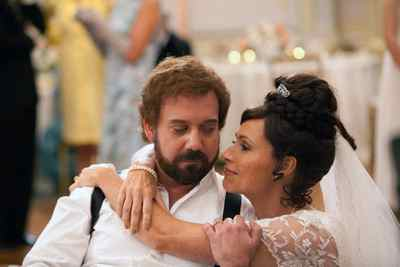Paul Giamatti, left, and Minnie Driver are shown in a scene from Barney's Version.