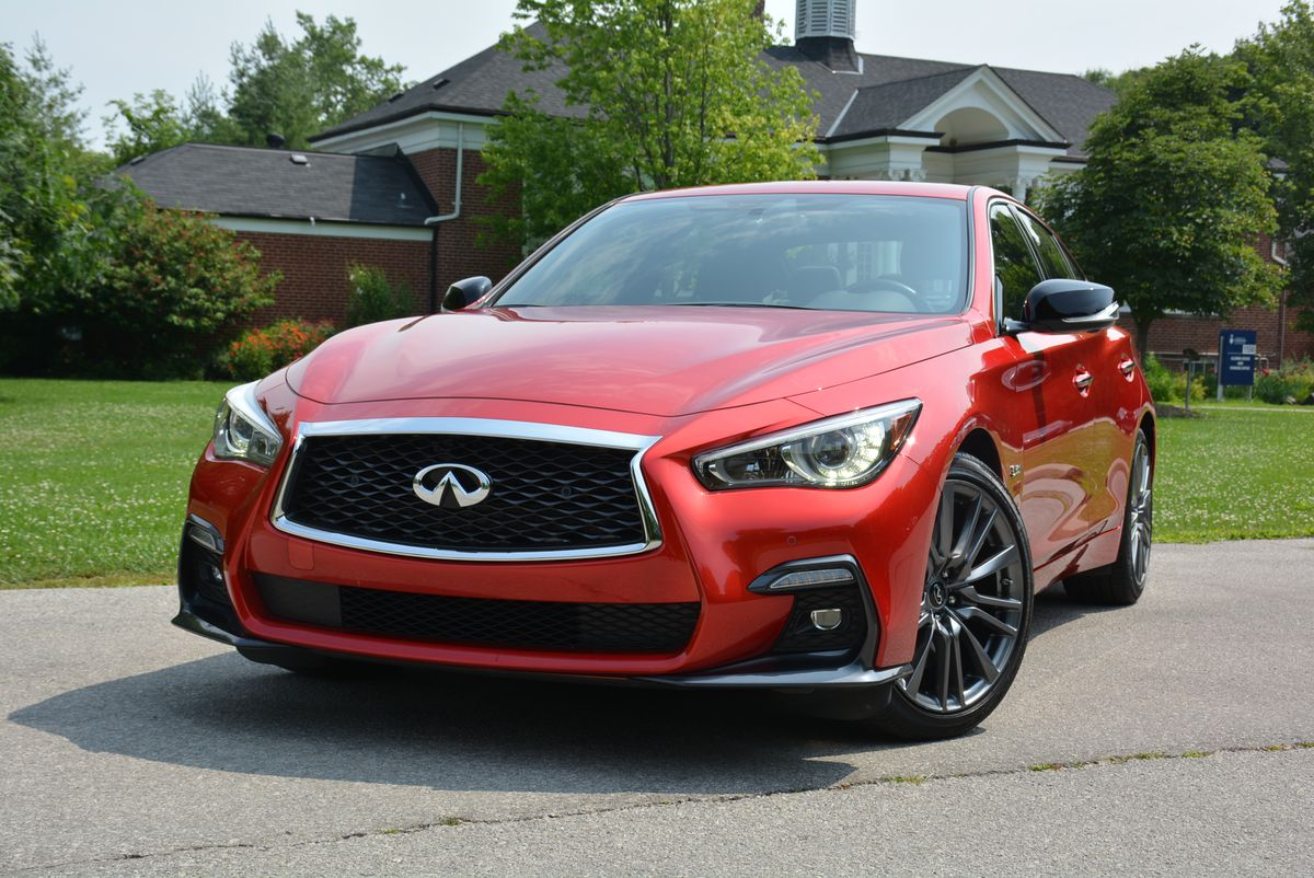 Sedan Vs Coupe >> Faceoff: Genesis G70 vs. Infiniti Q50 - The Globe and Mail