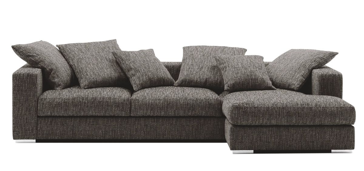 BoConcept's comfy Nova sofa features oversized cushions and extra padding on the armrests for restful reclining wherever you perch. From $4,995 through www.boconcept.ca.