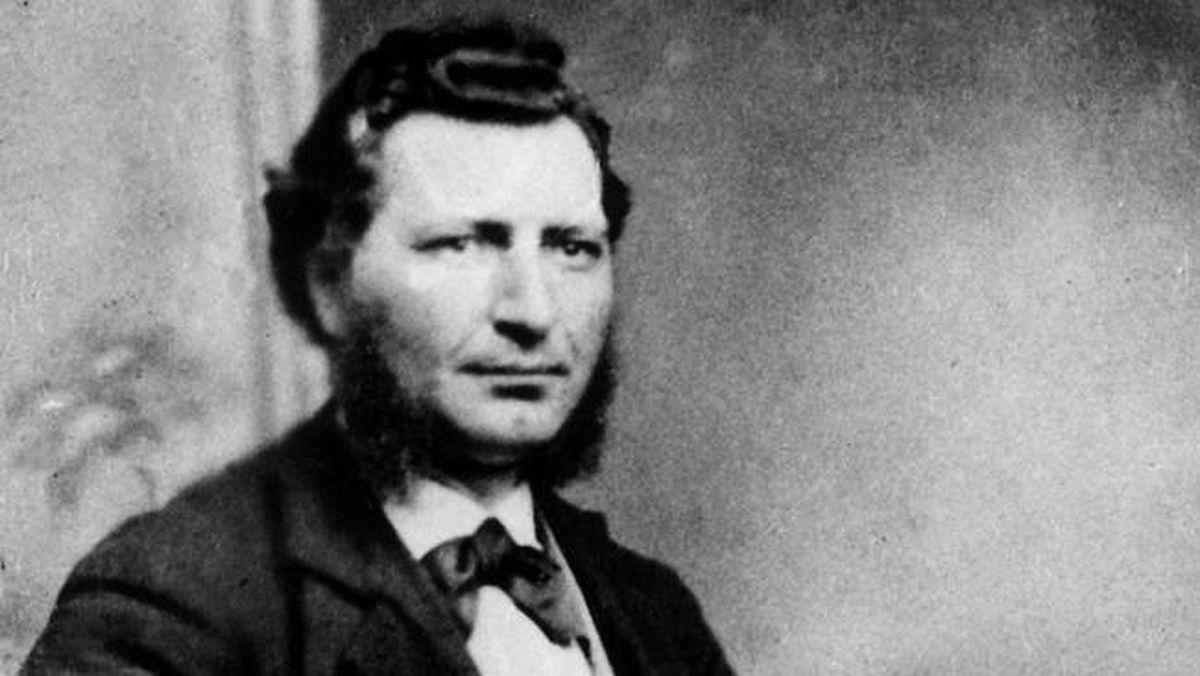 File photo of Louis Riel, circa 1876.