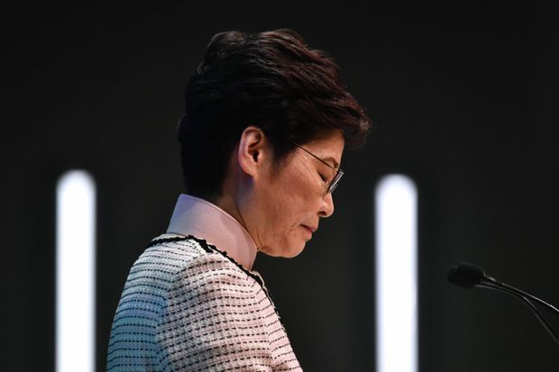 Hong Kong leader Carrie Lam offers big spending amid continued protests