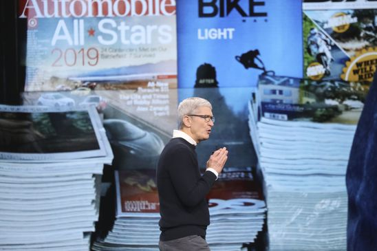 Apple shifts strategy to subscription video, news, gaming services and new credit card