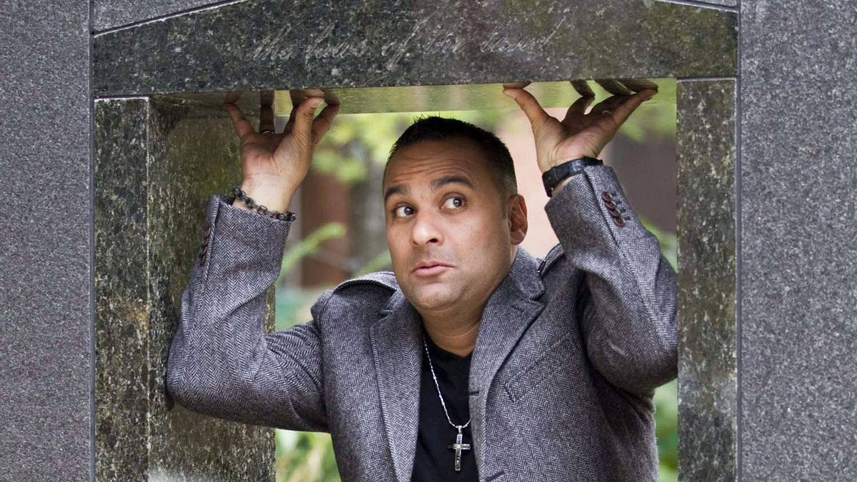 Canadian comedian Russell Peters