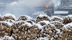 Burns Lake mill, Saturday, Jan. 21, 2012.