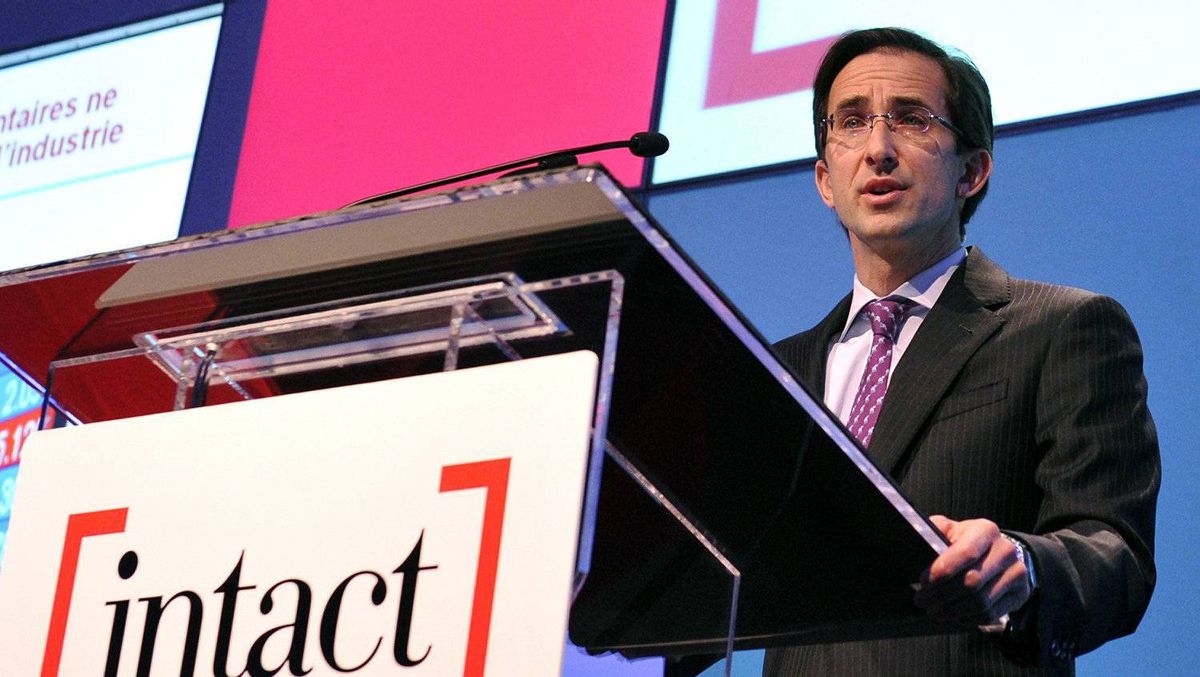 Intact Financial president and CEO Charles Brindamour.