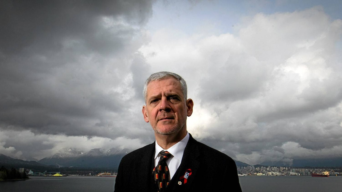 Dr. Julio Montaner, Director of the British Columbia Centre for Excellence in HIV/AIDS, poses for a photograph after speaking at the American Association for the Advancement of Science Annual Meeting in Vancouver, B.C., on Sunday, Feb. 19, 2012.