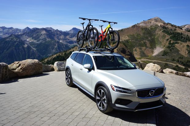 The new Volvo V60 Cross Country combines crossover capability and car comfort